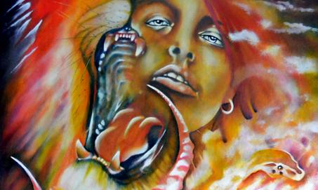 Atavistic/art/symbolic/painting/symbolism/mythology